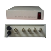 4 Way Amplified CCTV Video Splitter